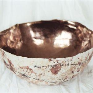 Large prayer bowl 2007