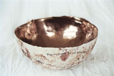 Large prayer bowl 2007